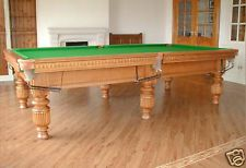 9ft allianace snooker tbale 4395