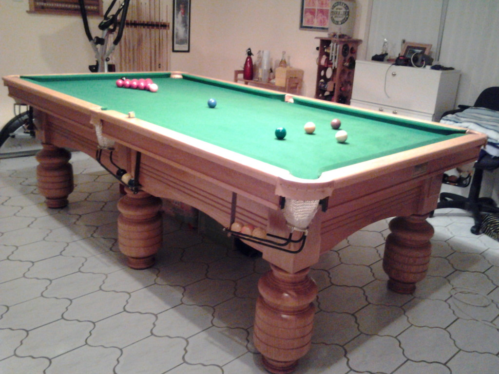 ENBILD GCL Billiards - I want to sell my pool table