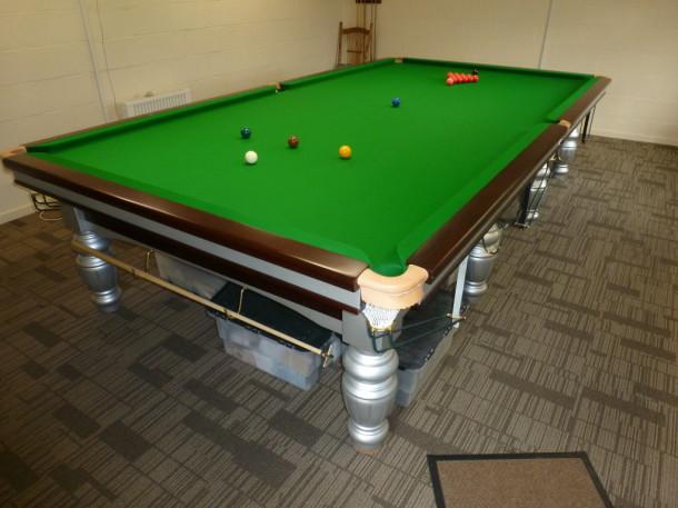 Hulland ward finished table set up
