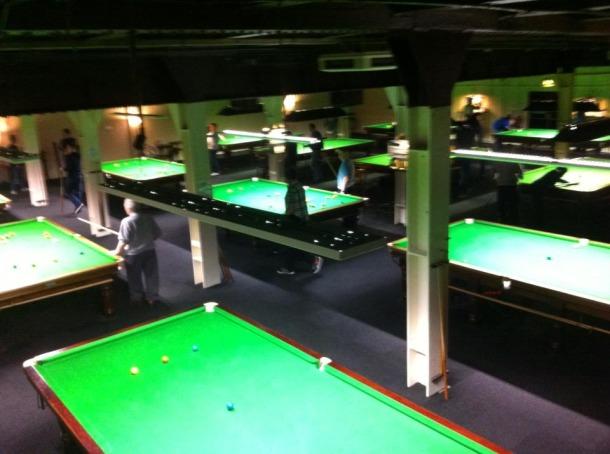 cue ball snooker area