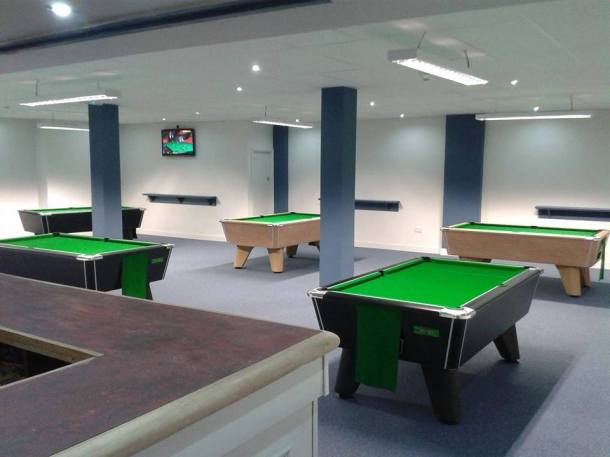 cueball derby pool room