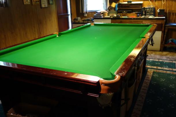 Snooker table karnehm hillman 8ft x 4ft for sale a for 10 foot snooker table for sale
