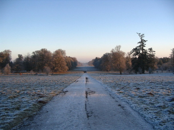 The avenue marchmont house winter