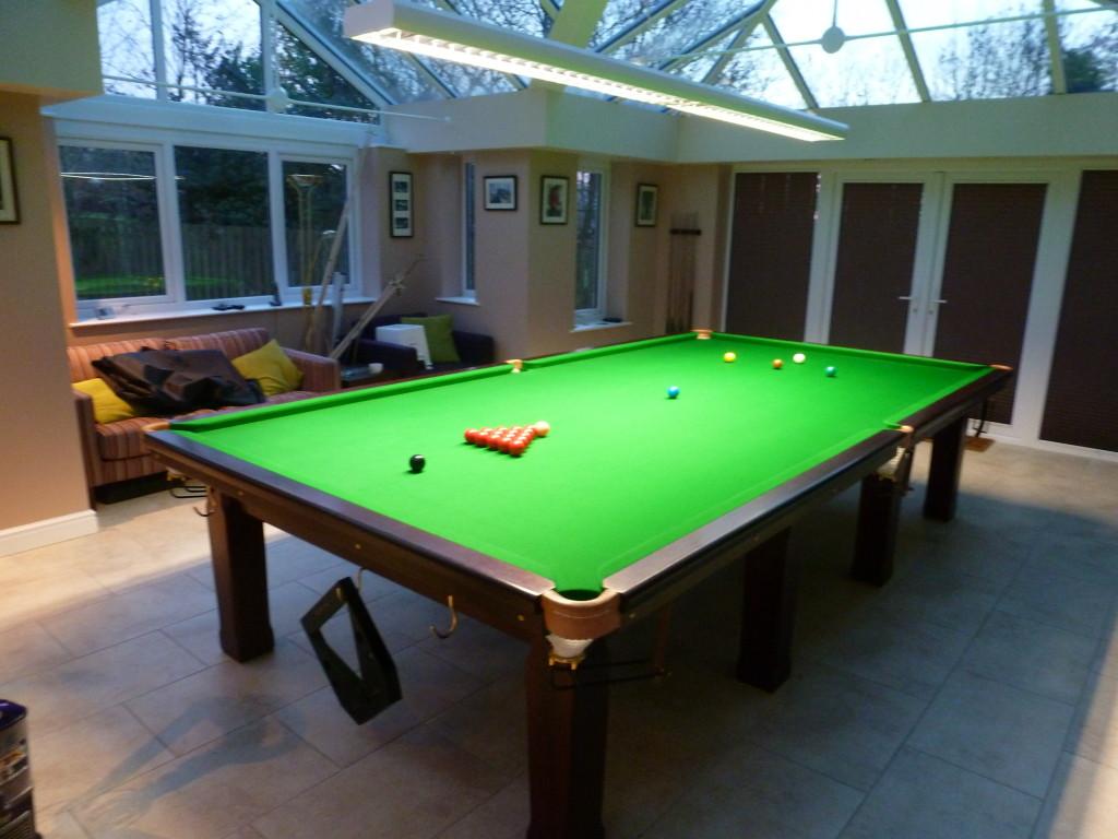 Open Up Corner Pockets On Full Size Snooker Table In Blackburn GCL - Pool table pocket shims