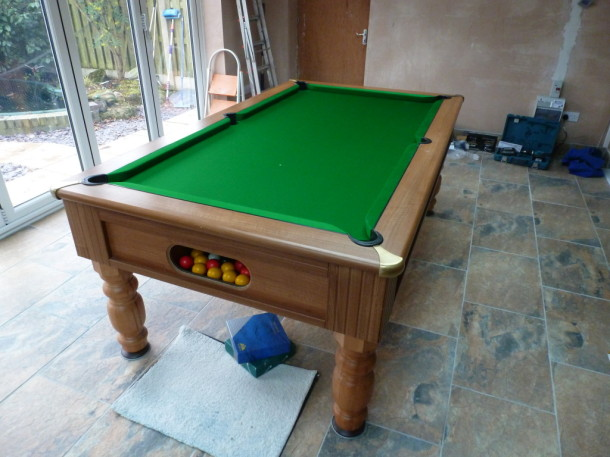 Mansfield home play pool finished