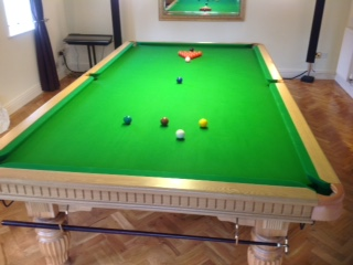 fantatstic looking oak 10ft snooker table for sale in
