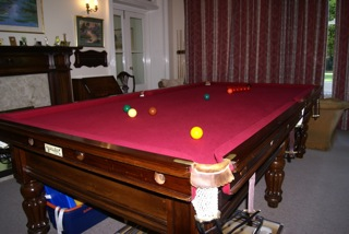 anna b&watts 9ft upper shot of table