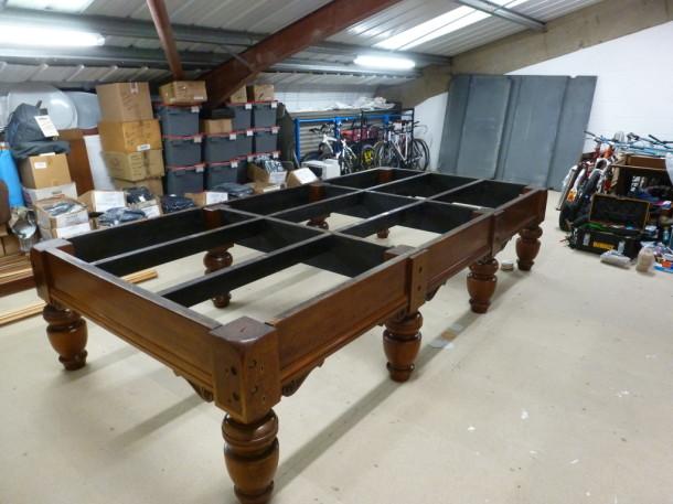 clitheroe frame up level slates in back