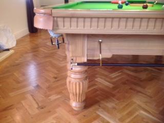 oak 10ft geoff leg detail