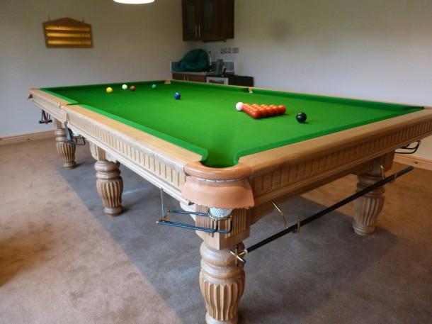 matlock cabin inside table shot