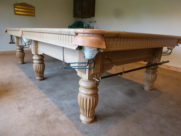 matlock cabin oak table side end wood frame