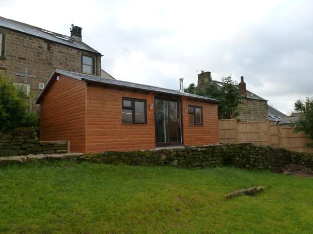 matlock cabin outside cabin shot