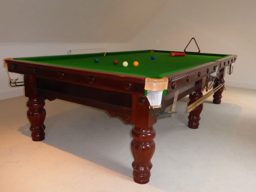 Rare 10ft karnehm hillman snooker table sold after just for 10 foot snooker table for sale
