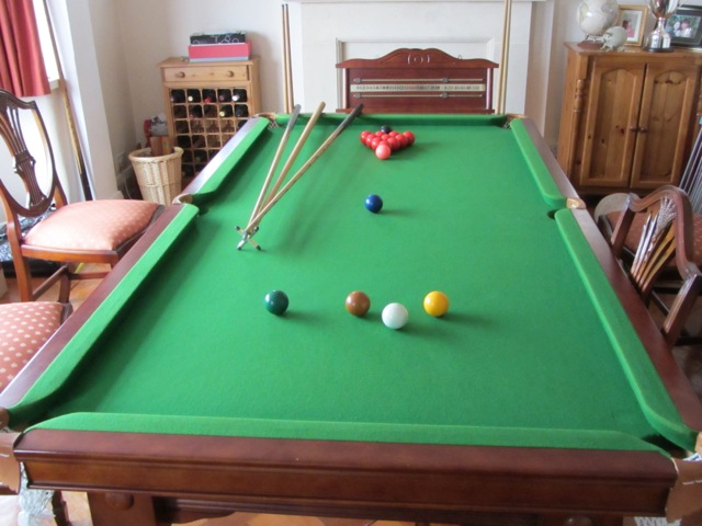 Ft By Ft Inch Dual Function Snooker Table Diner Table For Sale - 7 ft billiard table