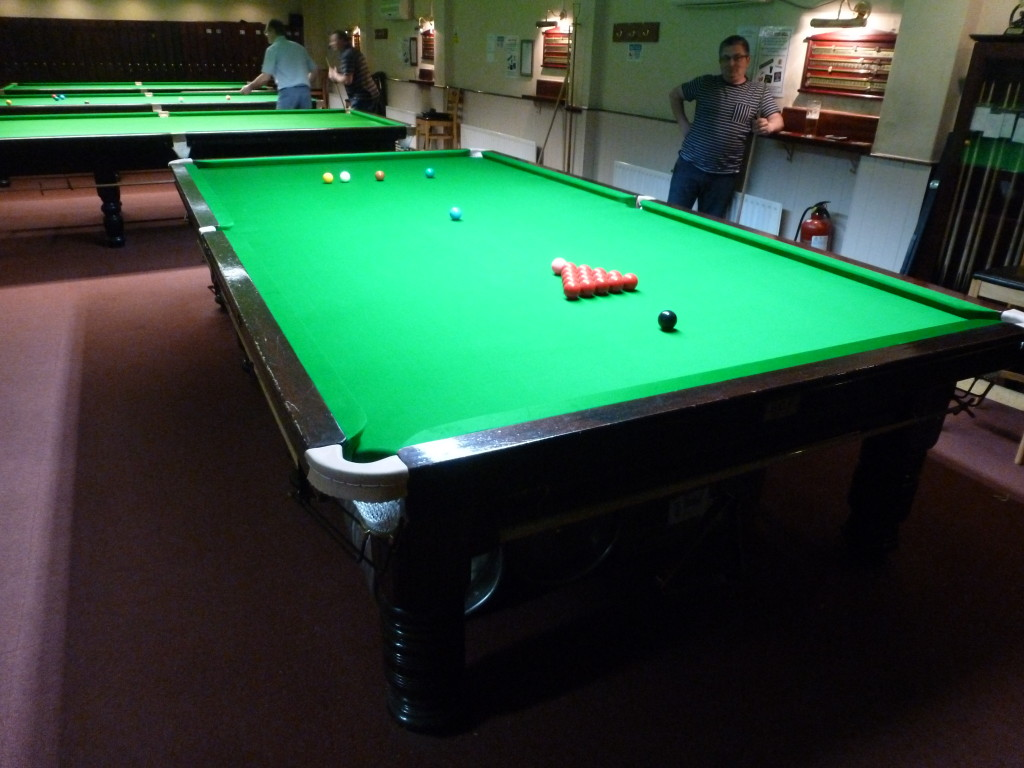 local nottinghamshire club have one full size snooker table and one pool table recovered in. Black Bedroom Furniture Sets. Home Design Ideas