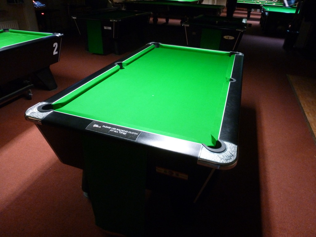 Stabbo Cue Club March 2015 6811gold T The Match Table For Pool ...