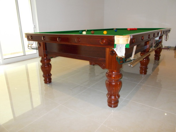 Just got back from portugal 10ft buckingham karnehm and for 10ft snooker table