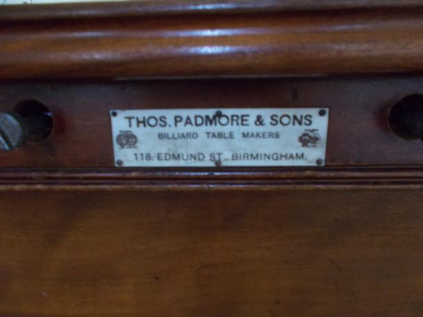 Padmore badge newton solney