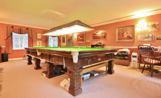 Dorset ornate table Mr Roberts