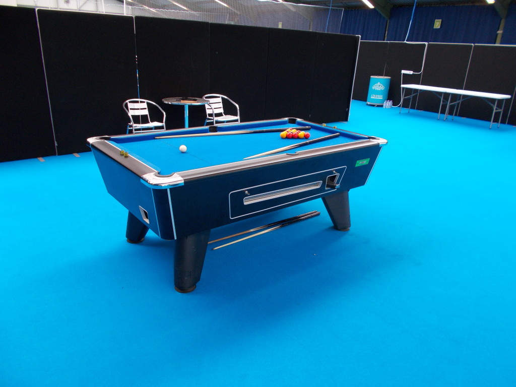 Ex Rental Supreme Coin Operated 7 4 Pool Table S Sold By Gcl