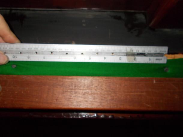 rip , main reason tacks over 10 inch apart
