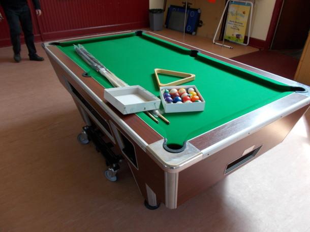 woksop pool table church finished super pro