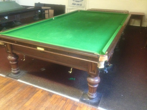 Burroughs and watts standard table anthony