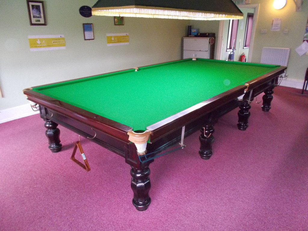On This Visit The Centre Table Which Does Not Get As Much Use As The Two  Outside Tables Did Not Require Any Work But The Level Was Checked. This  Club Is ...