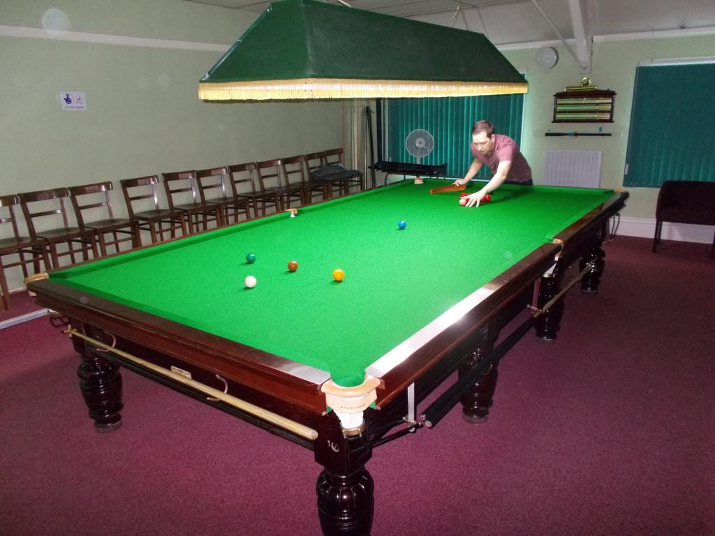 St Johns Table Three Set Up Of Balls