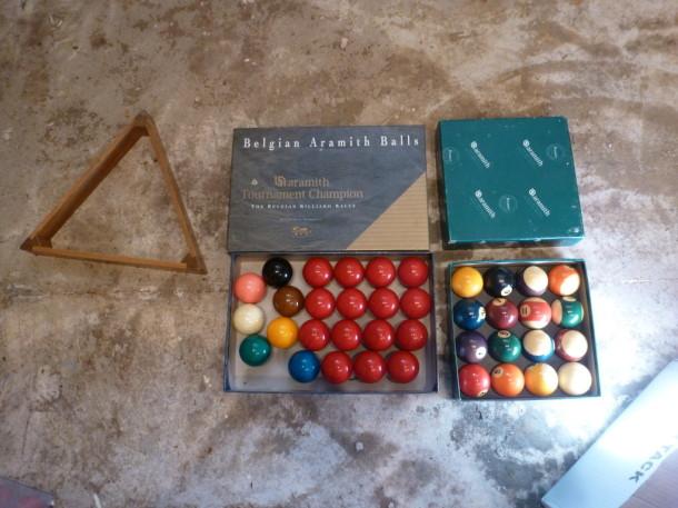 9ft warickshire balls