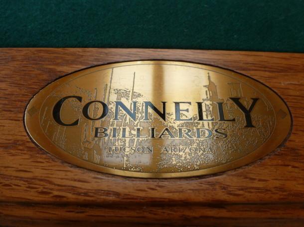 American pool repton connoley badge