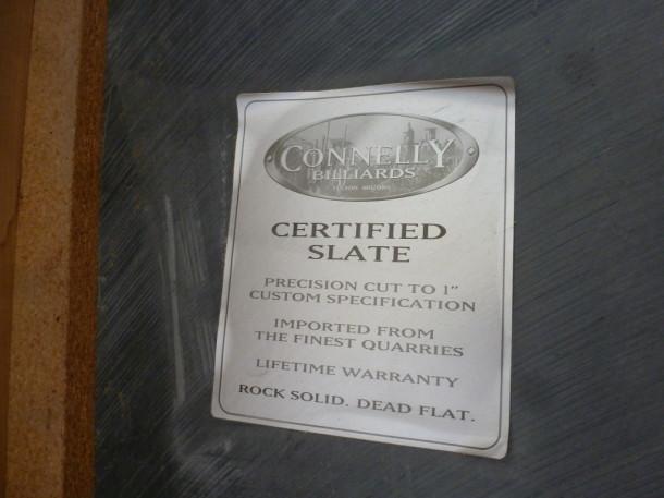 american pool repton under slate slate sign warrenty
