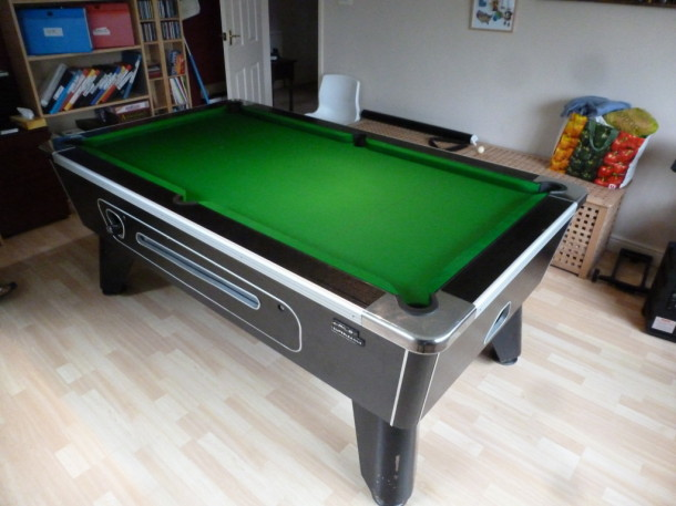pool table kegworth finished