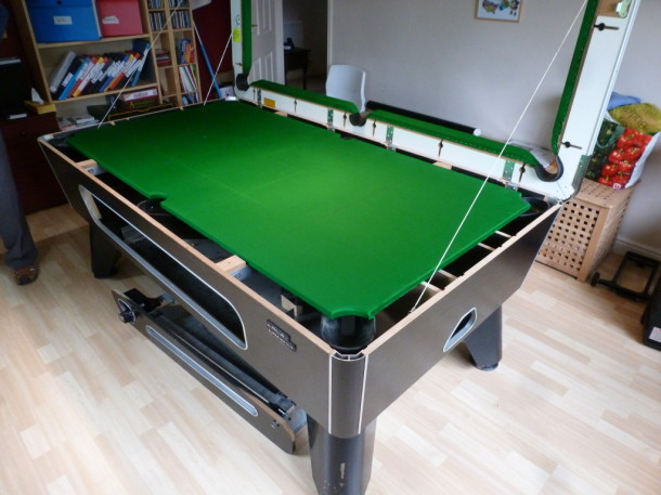 pool table kegworth riley 7ft almost finished
