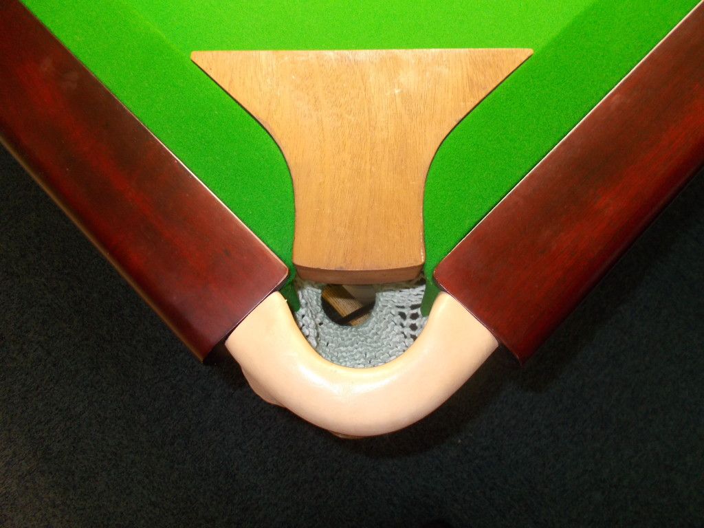 Enlarge To Template Size Snooker Table Pocket Openings