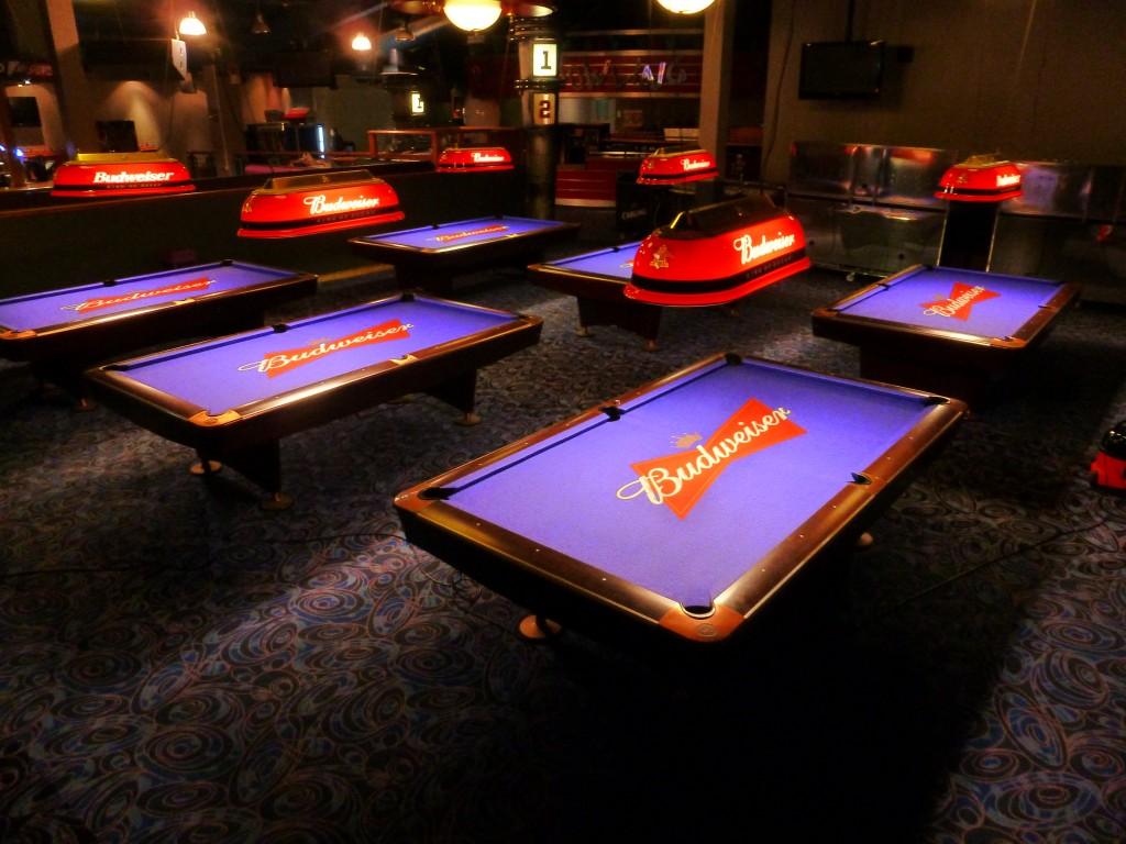Bud Light Pool Table Felt Designs