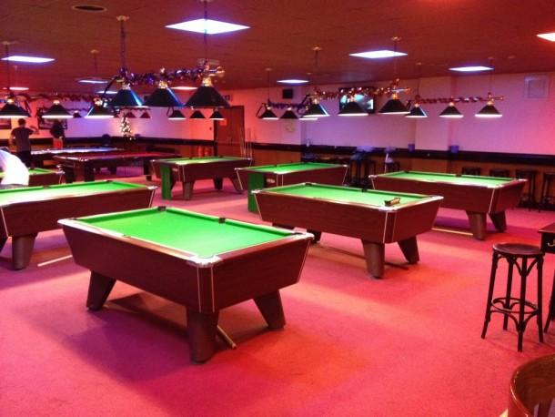 Hunters bar 7 pool re-covers Dec 15th 2015