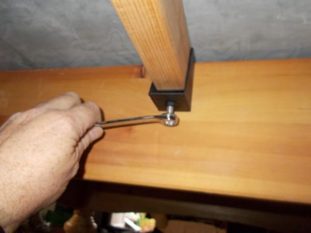 Linc oak adjusting munins with spanner