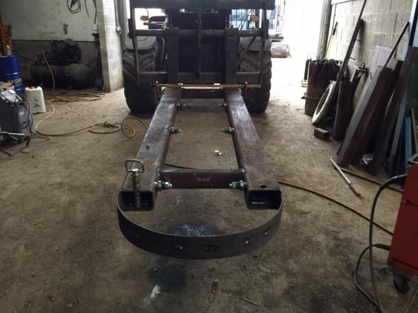 Tim oak platform for slate