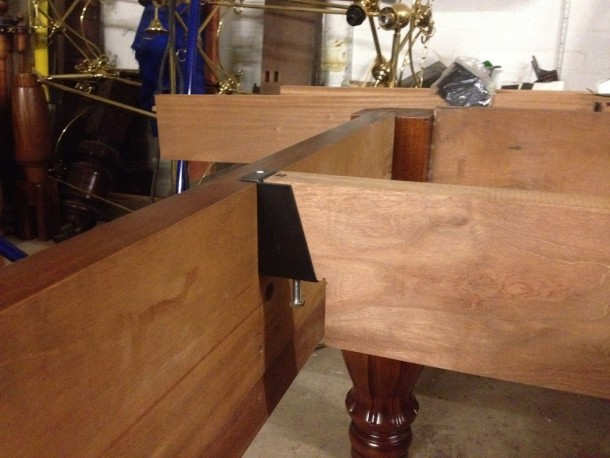 K & hillman 10ft adjustable bearer conversion chris