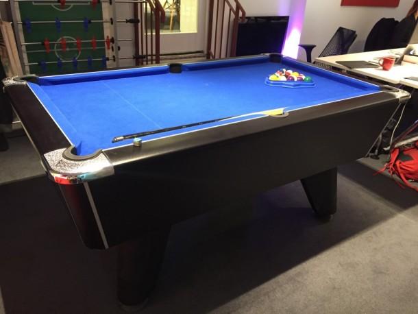 6ft winner supreme pool table