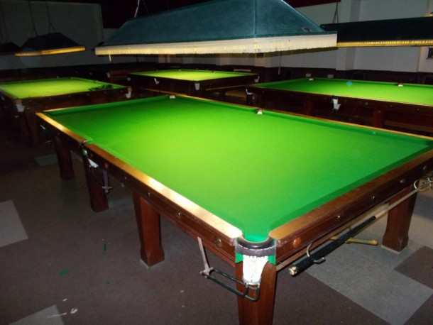 Coopers well re-covered finished left table