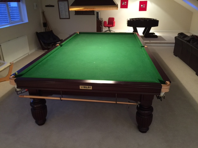FREE Full Size Riley Snooker Table NOW CLAIMED GCL Billiards - How to move a pool table upstairs