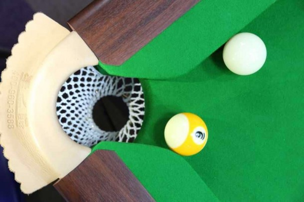 8 ball pocket opening 4 and quarter inch ball