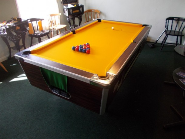 King billy finished table balls et up