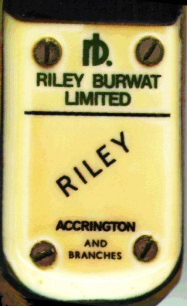 Riley burwat cue badge