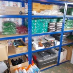 Store racking stock in