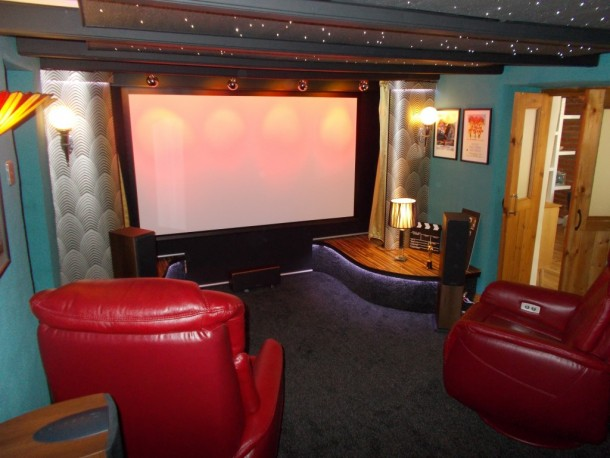 Vintage art deco home cinema BOBS