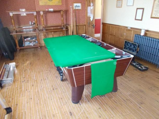 W Lion sawley strip down pool