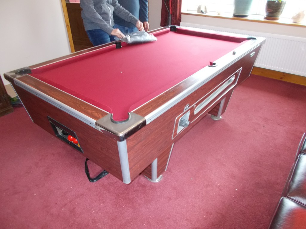 Pool Table Recovering In Nottingham Derby Lincoln Leicester - Pool table resurfacing